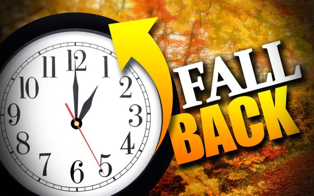 Time Change Fall 2016